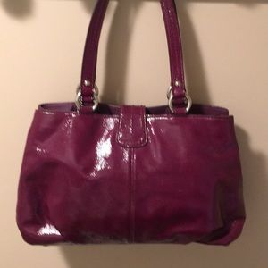 Coach Bags - Coach purse- fun color and looks new!